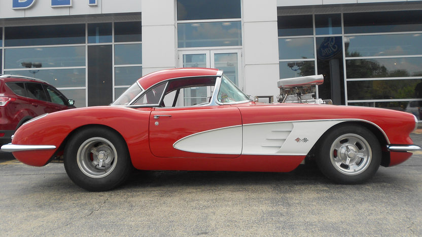1959 Chevrolet Corvette Pro Street 350/625 HP, 4-Speed presented as lot F82 at Schaumburg, IL 2013 - image2