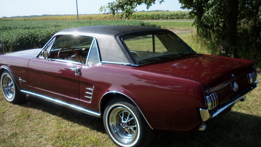 1966 Ford Mustang Coupe presented as lot F89 at Schaumburg, IL 2013 - image3
