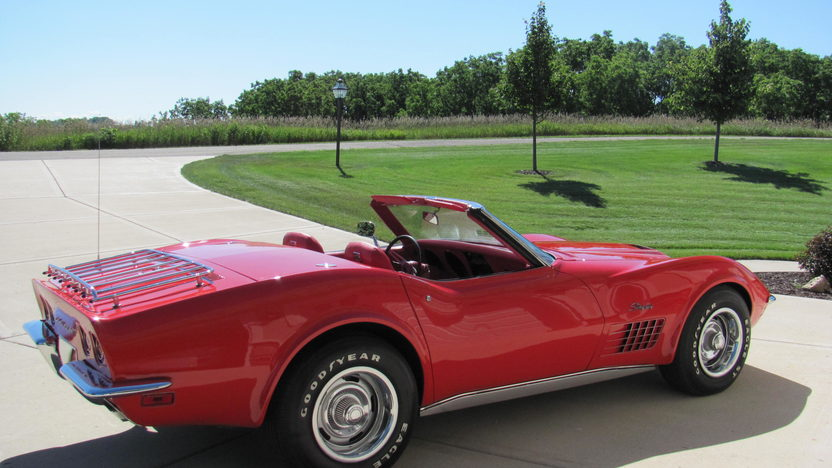 1970 Chevrolet Corvette LT1 Convertible 350/370 HP, 4-Speed presented as lot F176 at Schaumburg, IL 2013 - image2
