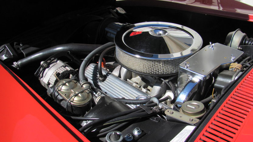 1970 Chevrolet Corvette LT1 Convertible 350/370 HP, 4-Speed presented as lot F176 at Schaumburg, IL 2013 - image5