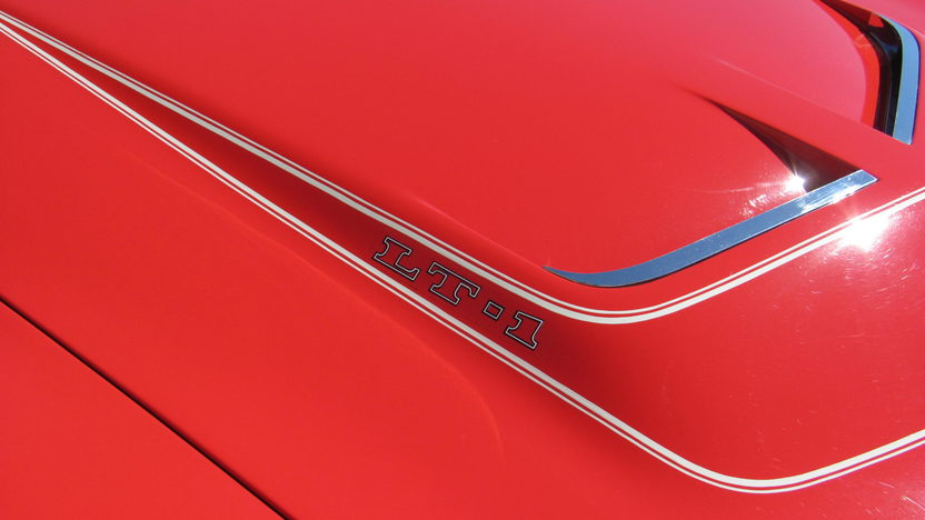 1970 Chevrolet Corvette LT1 Convertible 350/370 HP, 4-Speed presented as lot F176 at Schaumburg, IL 2013 - image7