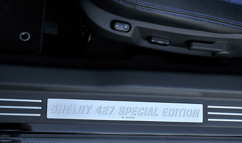2008 Ford Shelby Super Snake NASCAR Edition 5.4L, 6-Speed presented as lot F204 at Schaumburg, IL 2013 - image6