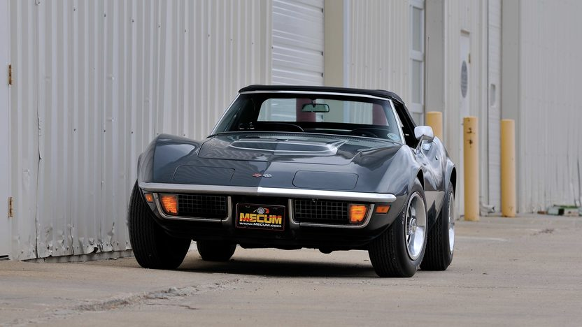 1970 Chevrolet Corvette Convertible Bloomington Gold Survivor presented as lot F233 at Schaumburg, IL 2013 - image12