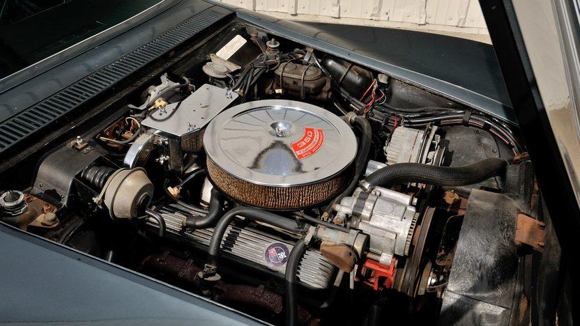 1970 Chevrolet Corvette Convertible Bloomington Gold Survivor presented as lot F233 at Schaumburg, IL 2013 - image7