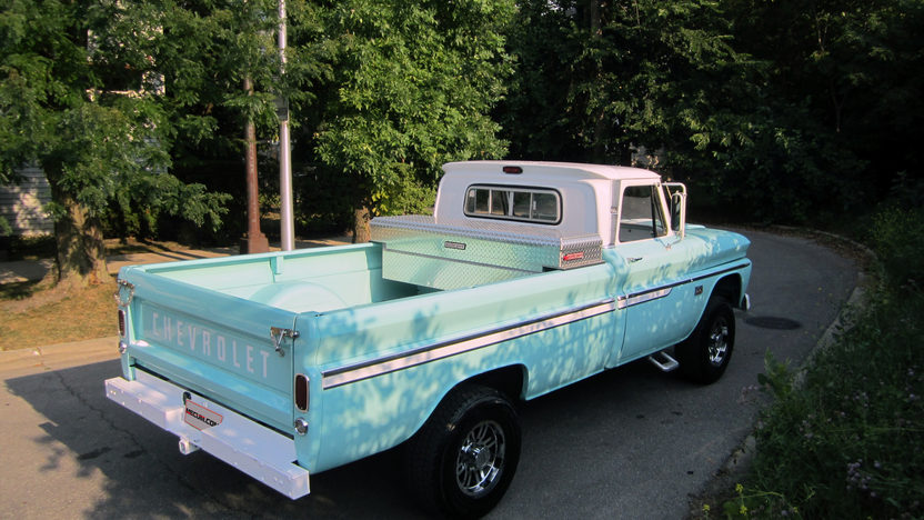 1966 Chevrolet C20 Pickup presented as lot S25 at Schaumburg, IL 2013 - image2