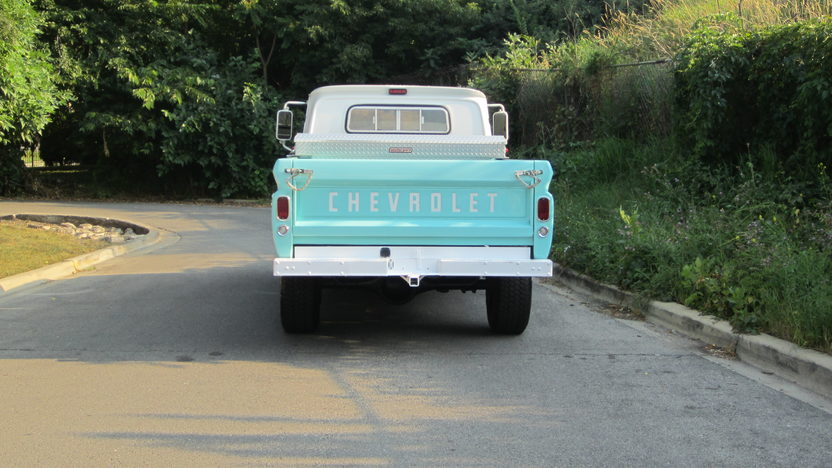 1966 Chevrolet C20 Pickup presented as lot S25 at Schaumburg, IL 2013 - image3