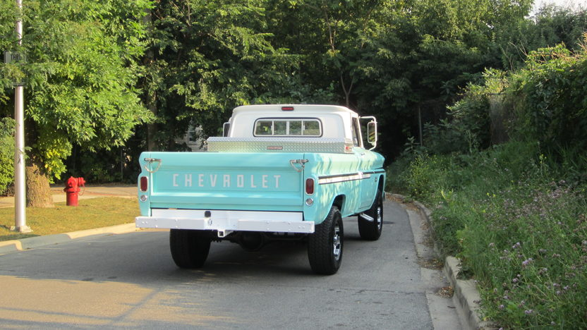 1966 Chevrolet C20 Pickup presented as lot S25 at Schaumburg, IL 2013 - image7