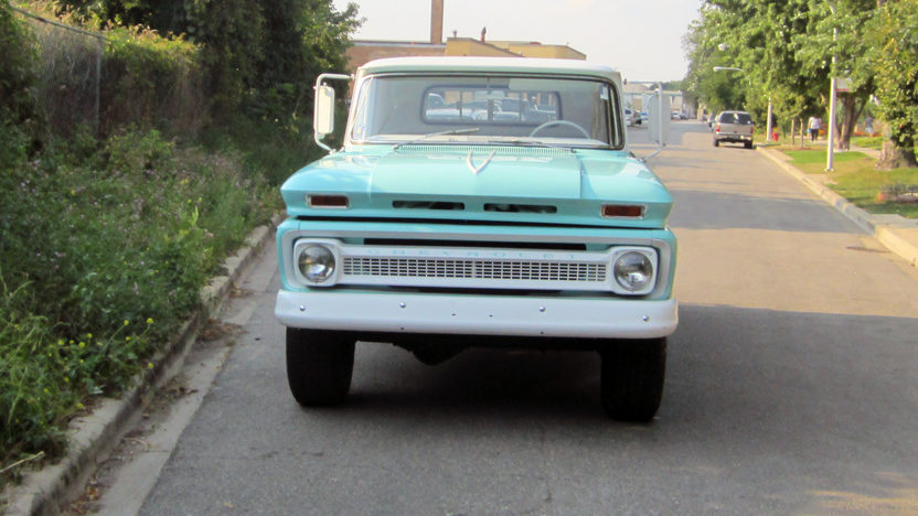 1966 Chevrolet C20 Pickup presented as lot S25 at Schaumburg, IL 2013 - image8