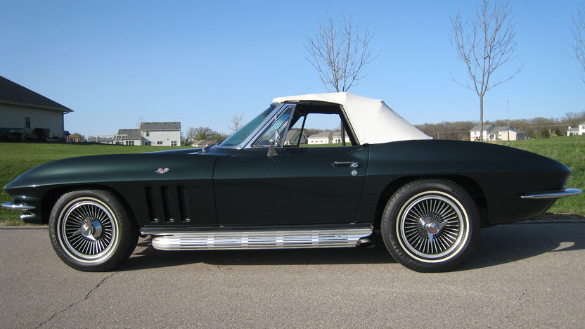 1965 Chevrolet Corvette Convertible 327/365 HP, 4-Speed presented as lot S104 at Schaumburg, IL 2013 - image2