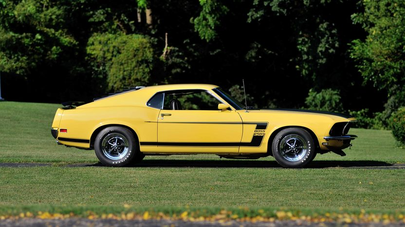 1969 Ford Mustang Boss 302 Fastback presented as lot S166 at Schaumburg, IL 2013 - image2