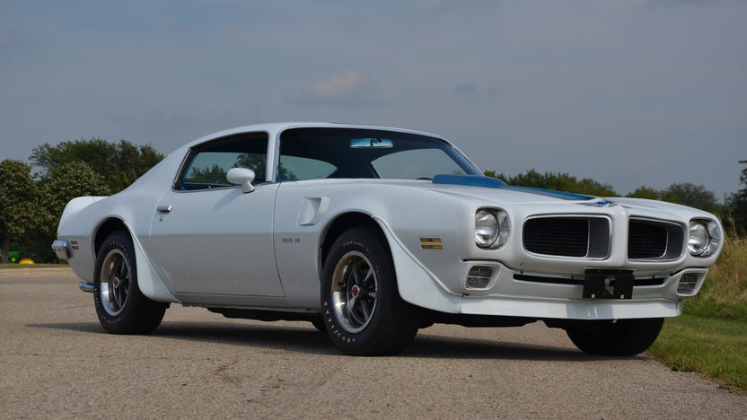 1970 Pontiac Trans Am 400/345 HP, 4-Speed presented as lot S190 at Schaumburg, IL 2013 - image10