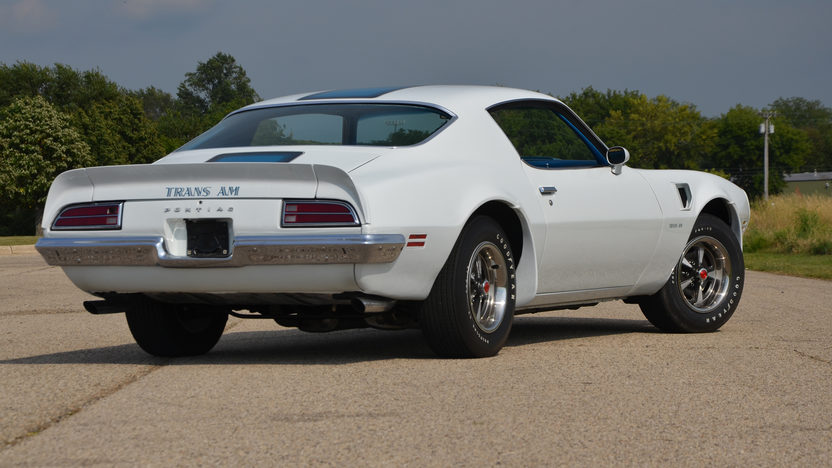 1970 Pontiac Trans Am 400/345 HP, 4-Speed presented as lot S190 at Schaumburg, IL 2013 - image3