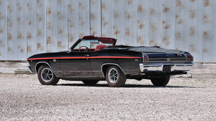 1969 Chevrolet Chevelle SS Convertible 396/325 HP, Automatic presented as lot S136 at Schaumburg, IL 2013 - image3