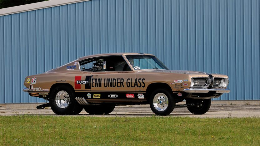 1968 Plymouth Barracuda Hurst Hemi Under Glass