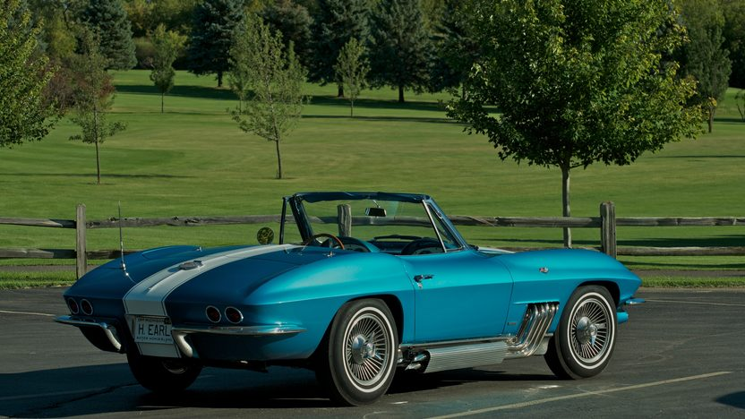 1963 Harley J. Earl Corvette presented as lot S110 at Schaumburg, IL 2013 - image12