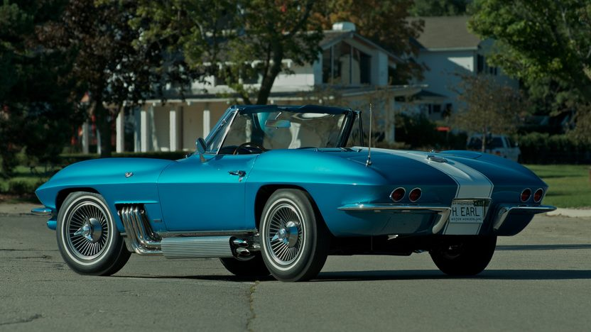 1963 Harley J. Earl Corvette presented as lot S110 at Schaumburg, IL 2013 - image2