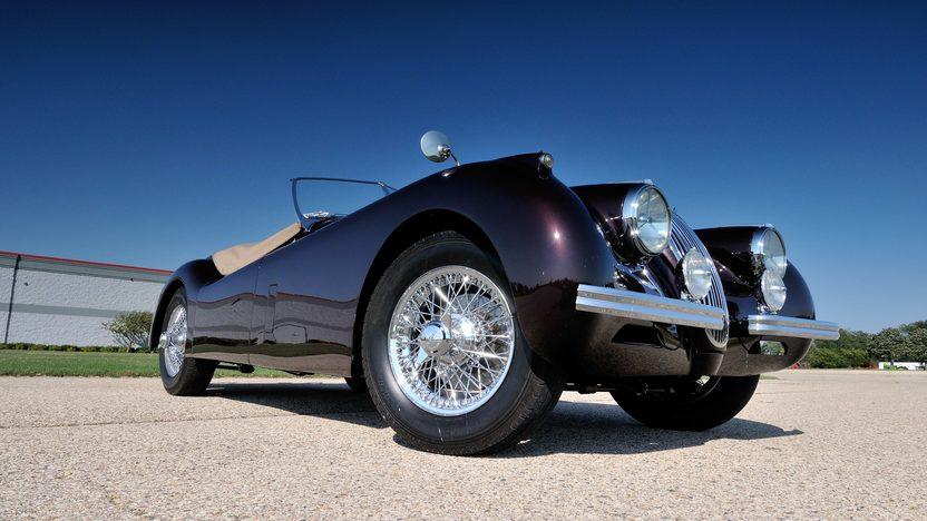 1953 Jaguar XK120SE Roadster presented as lot S113.1 at Schaumburg, IL 2013 - image12