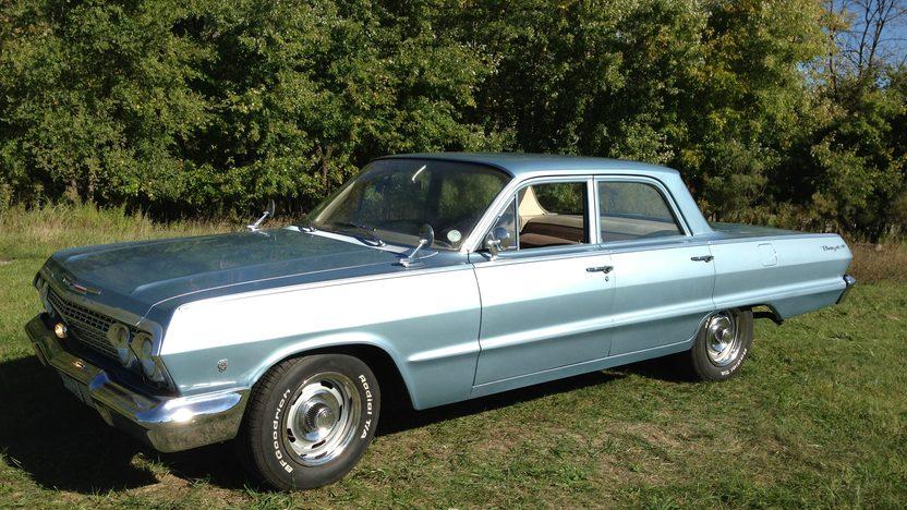 1963 Chevrolet Biscayne 4 Door Mecum Schaumburg 2013 T70 1