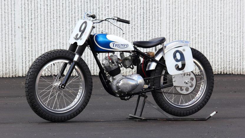 1967 Triumph Gary Nixon Racer
