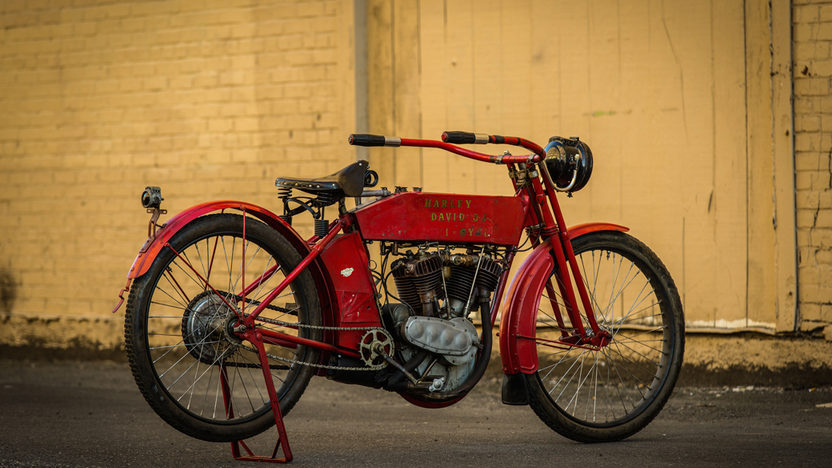 1912 Harley-Davidson Big Twin FORMERLY OWNED BY STEVE MCQUEEN presented as lot S177 at Monterey, CA 2014 - image10