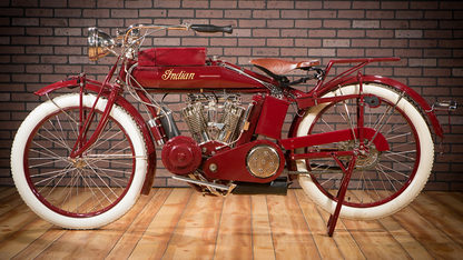 1914 Indian Hendee Electric Start