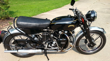 1955 Vincent D Black Shadow