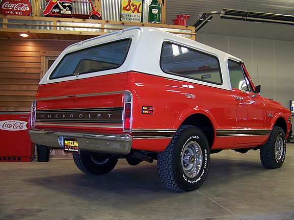 1972 Chevrolet Blazer Cancelled Lot presented as lot T203 at Dallas, TX 2012 - image2