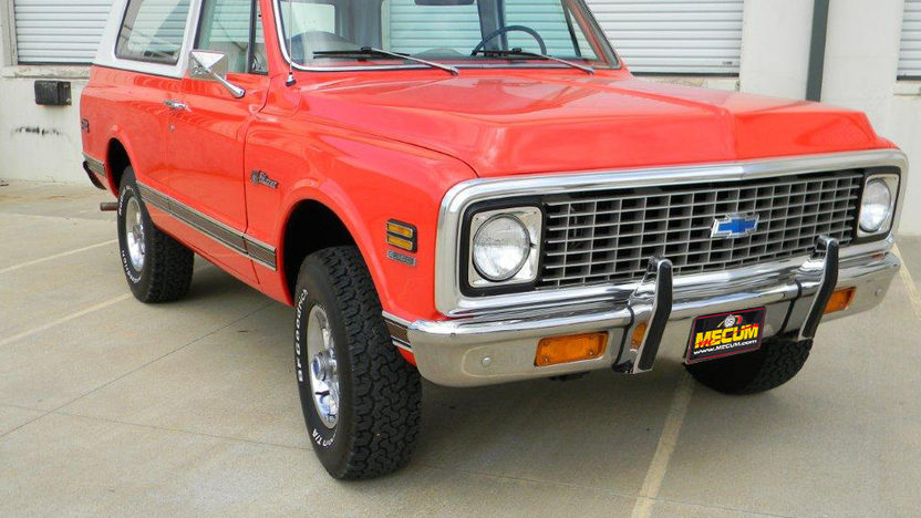 1972 Chevrolet Blazer Cancelled Lot presented as lot T203 at Dallas, TX 2012 - image7