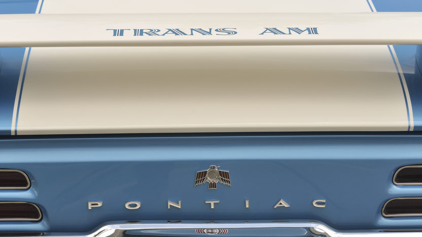 1969 Pontiac Trans Am Ram Air IV 400/345 HP, Automatic presented as lot F220.1 at Dallas, TX 2012 - image9