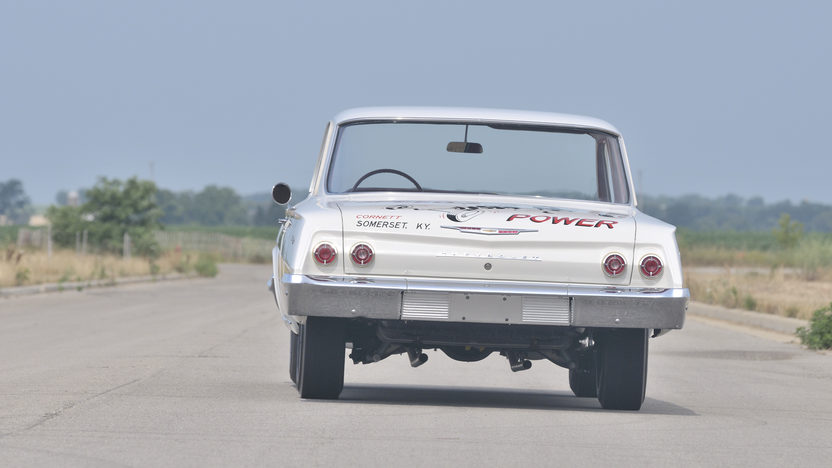1962 Chevrolet Biscayne Documented Factory 409/409 Race Car  presented as lot F261 at Dallas, TX 2012 - image11