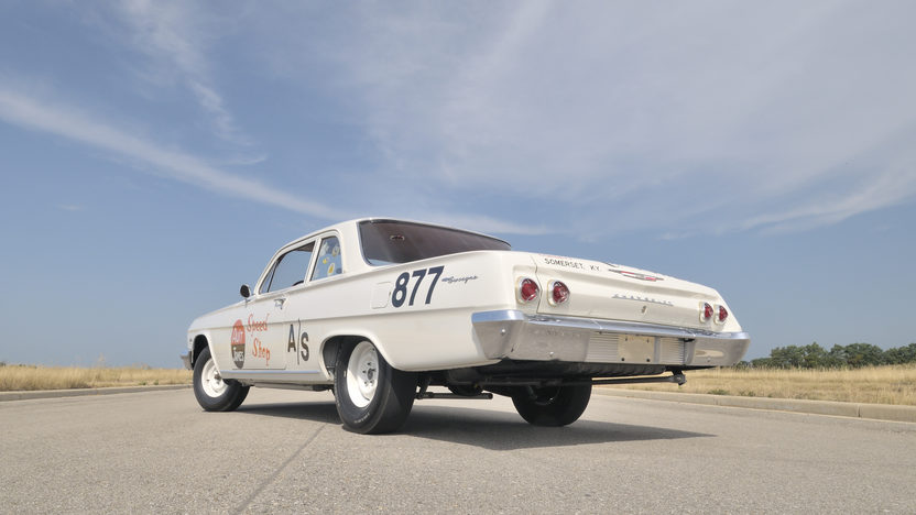 1962 Chevrolet Biscayne Documented Factory 409/409 Race Car  presented as lot F261 at Dallas, TX 2012 - image2