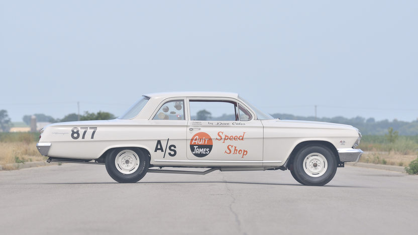 1962 Chevrolet Biscayne Documented Factory 409/409 Race Car  presented as lot F261 at Dallas, TX 2012 - image8