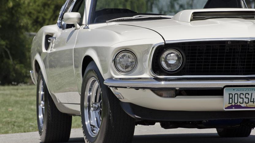 1969 Ford Mustang Boss 429 Fastback KK1303, 91 Original Miles presented as lot S99 at Dallas, TX 2012 - image10