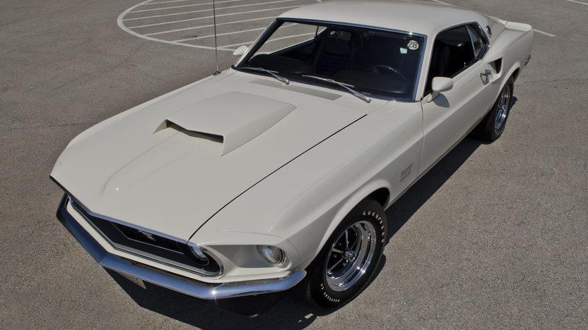 1969 Ford Mustang Boss 429 Fastback KK1303, 91 Original Miles presented as lot S99 at Dallas, TX 2012 - image11