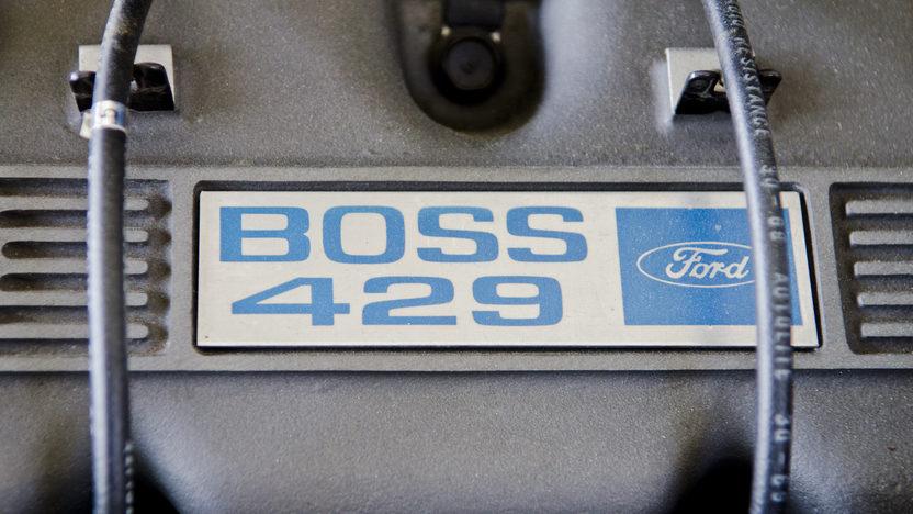 1969 Ford Mustang Boss 429 Fastback KK1303, 91 Original Miles presented as lot S99 at Dallas, TX 2012 - image9