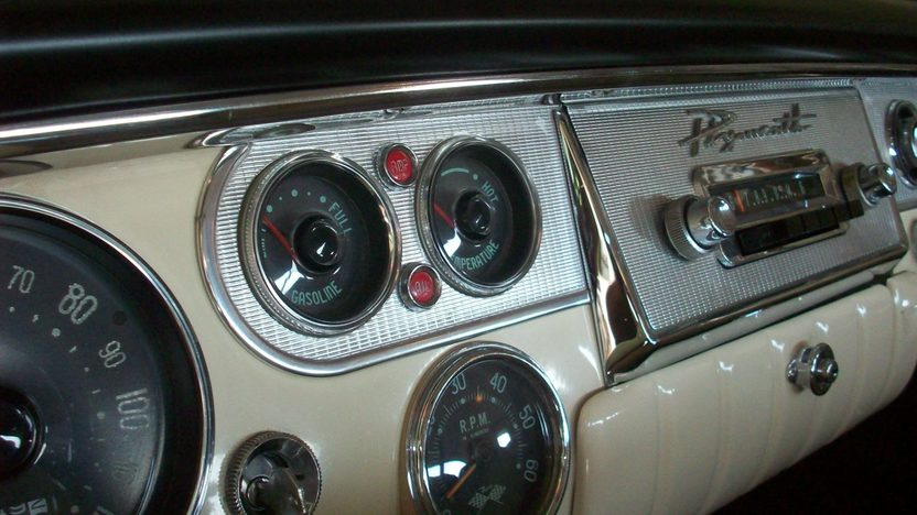 1956 Plymouth Fury Hardtop 303/240 HP, Automatic presented as lot S70.1 at Dallas, TX 2012 - image4