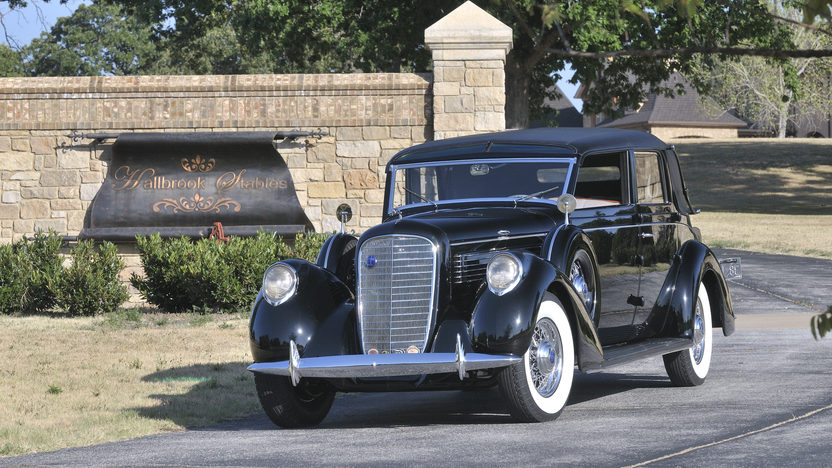 1938 Lincoln K Semi-Collapsible Cabriolet