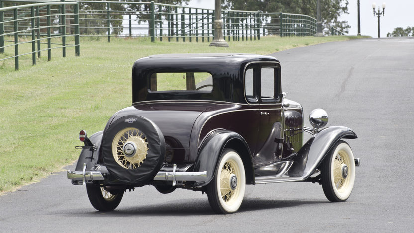1932 Chevrolet Confederate Deluxe Coupe Restored 5 Window Coupe presented as lot W86 at Dallas, TX 2012 - image2