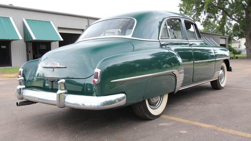 1952 Chevrolet Deluxe Sedan presented as lot W26 at Dallas, TX 2013 - image3