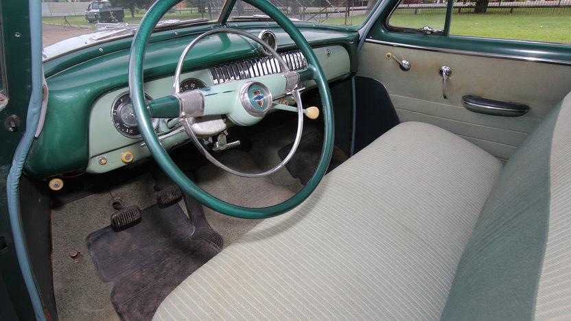 1952 Chevrolet Deluxe Sedan presented as lot W26 at Dallas, TX 2013 - image4