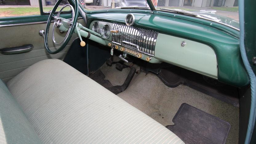 1952 Chevrolet Deluxe Sedan presented as lot W26 at Dallas, TX 2013 - image5