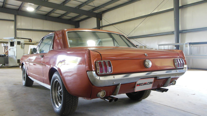 1966 Ford Mustang Coupe 289 CI, Automatic presented as lot W134 at Dallas, TX 2013 - image7