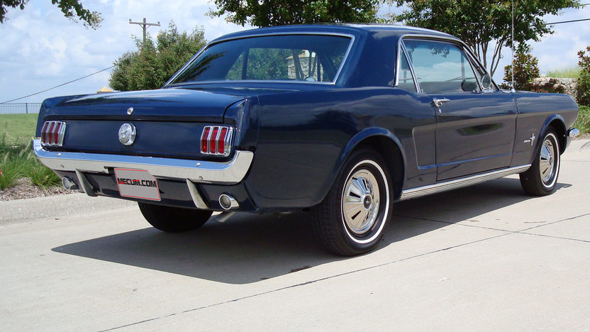 1966 Ford Mustang 200 CI, Automatic presented as lot W141 at Dallas, TX 2013 - image2