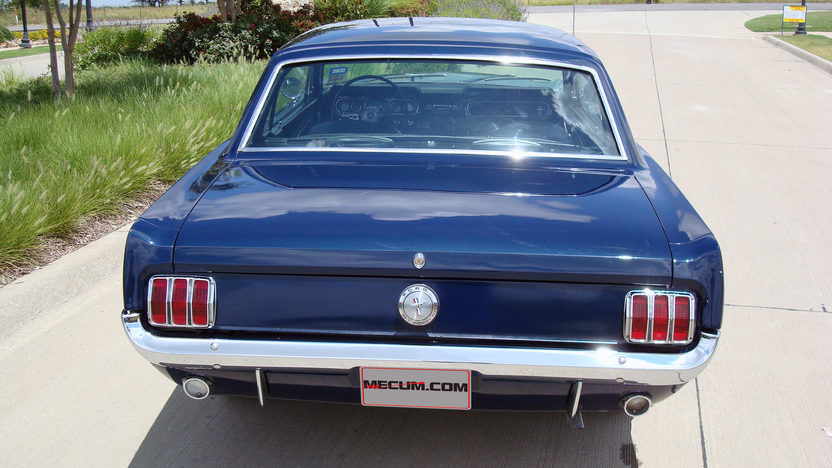 1966 Ford Mustang 200 CI, Automatic presented as lot W141 at Dallas, TX 2013 - image3