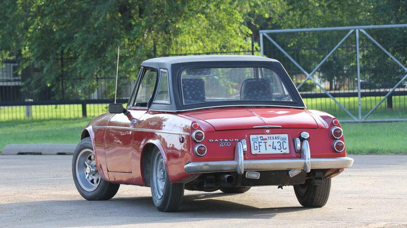 1969 Datsun 2000 presented as lot W201 at Dallas, TX 2013 - image2