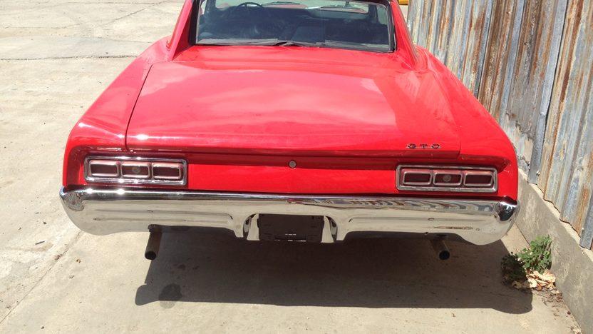 1967 Pontiac GTO Replica Resto Mod presented as lot T128 at Dallas, TX 2013 - image2