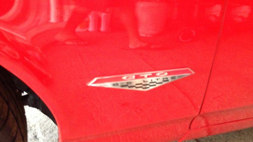 1967 Pontiac GTO Replica Resto Mod presented as lot T128 at Dallas, TX 2013 - image5