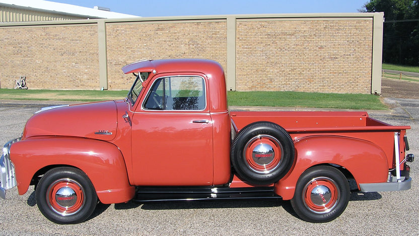 1953 Chevrolet 3100 Pickup 261 CI, 3-Speed presented as lot T141 at Dallas, TX 2013 - image2