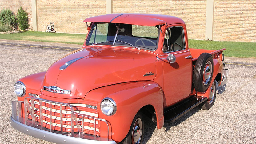 1953 Chevrolet 3100 Pickup 261 CI, 3-Speed presented as lot T141 at Dallas, TX 2013 - image8