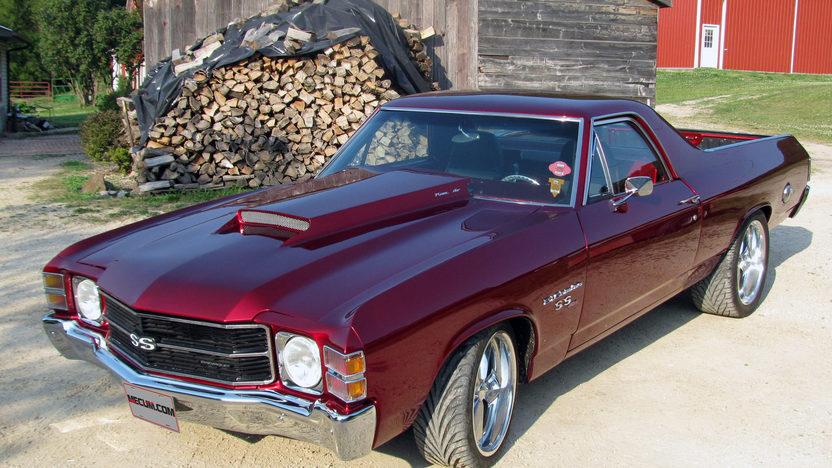 1971 Chevrolet El Camino SS 454 CI, Automatic presented as lot T180 at Dallas, TX 2013 - image8